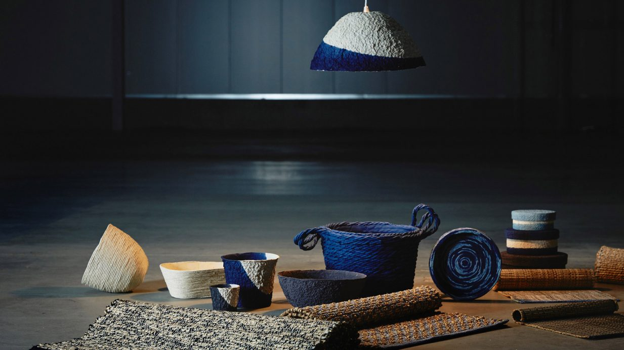 IKEA LAUNCHES HOMEWARE MADE FROM RICE STRAW