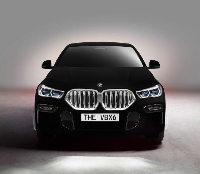 "BMW unveils ""blackest black"" car sprayed with Vantablack"